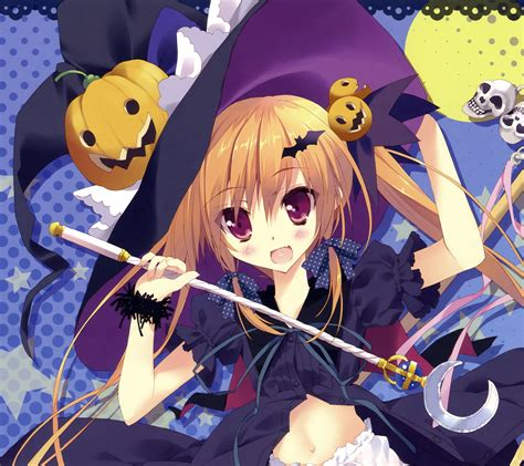imagenes de halloween en anime anime halloween 2013 android wallpaper 2160x1920 7