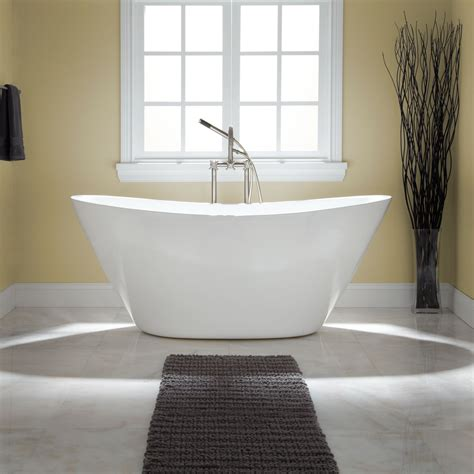 Bathroom Tubs With Shower Treece Acrylic Tub Freestanding Tubs Bathtubs Bathroom