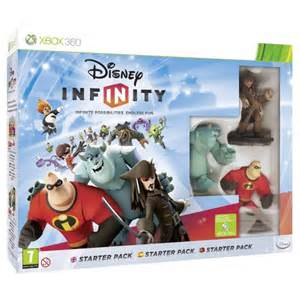 Disney Infinity For Xbox 360 Disney Infinity Starter Pack Xbox 360 365games Co Uk