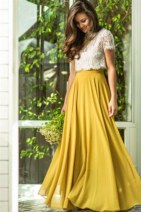 grumpy but gorgeous per parties no1 girls per and amelia full yellow maxi skirt morning lavender