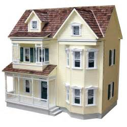 real toys front opening country dollhouse