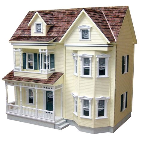 toys doll house real good toys front opening country victorian dollhouse kit 1 inch scale at hayneedle