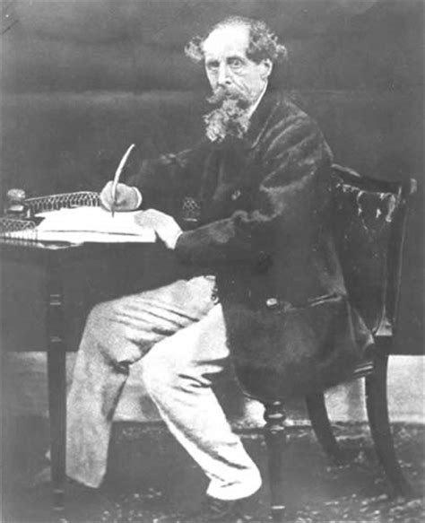 charles dickens the biography of the writer in english dickens at writing desk