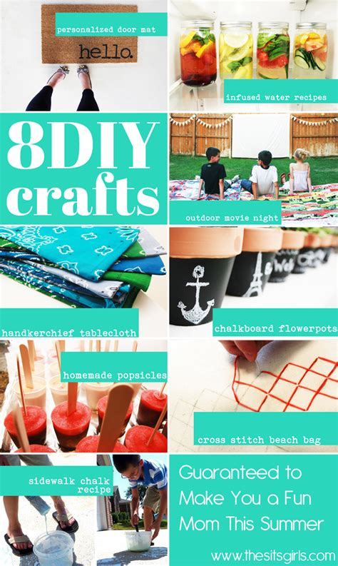 15 summer craft and diy ideas for the home setting for 4 diy crafts 8 crafts to make you a fun mom this summer
