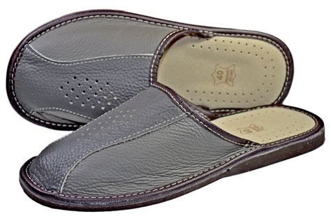 ae mcateer men s leather house slippers bespoke post beautiful leather bedroom slippers images home design