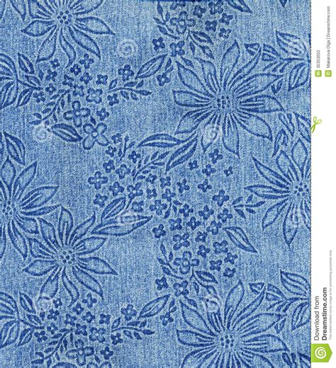 jeans pattern design jeans cloth with flower pattern stock photo image 35353050