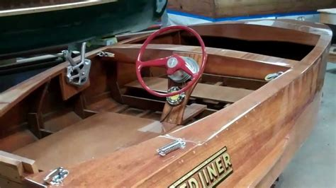 restoration complete  speed liner caravel runabout
