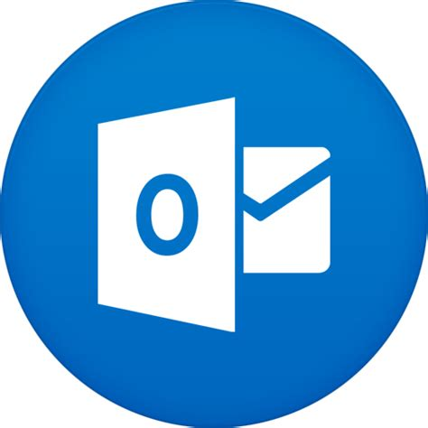 convertir imagenes png a icons icono outlook gratis de circle icons