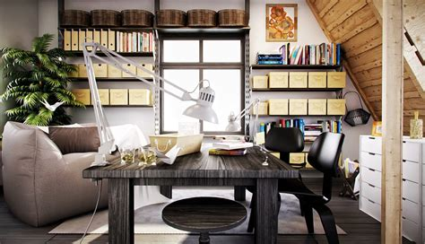 office at home creative workspaces