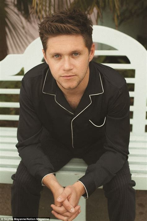 heres the irish model niall horan had a cheeky kiss with its niall horan reveals solo album left no time for dating