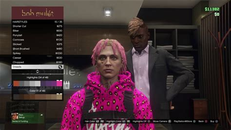 lil pump wig lil pump hair tutorial gta 5 youtube