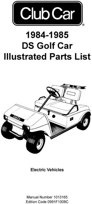 FREE CLUB CAR MANUAL PDF - Auto Electrical Wiring Diagram