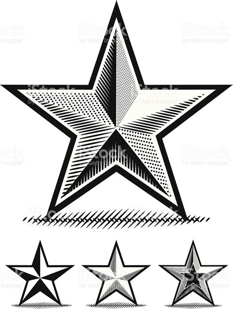 imagenes para dibujar a lapiz estrellas estrella de papel para dibujar arte vectorial de stock y