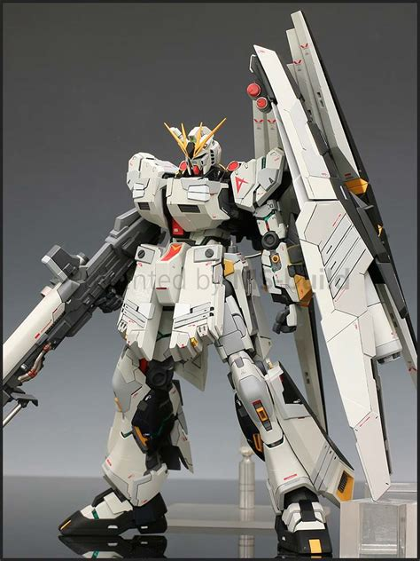 Hg Gundam Zz By Gundam Workshop fa 93 nu gundam h w s cover garage kit x mg nu gundam ver