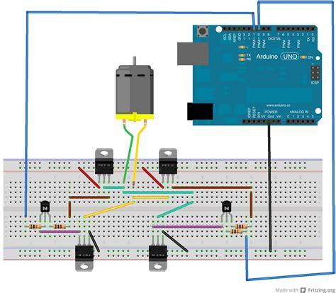 1k resistor fritzing robotic arts motion motors fall 12
