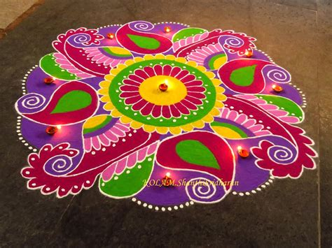 Handmade Rangoli Designs - handmade diwali decoration search rangoli