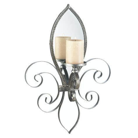 Tealight Wall Sconce with Mirrored Wall Sconce Candle Holder Votive Tea Light Iron Mirror Tealight Ebay