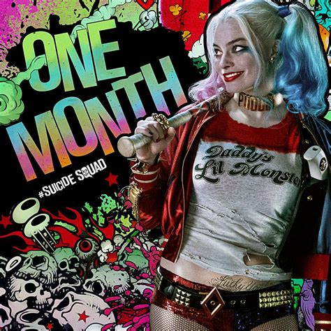 Margot Robbie S Harley Quinn Featured On New Suicide Squad