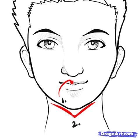 Easy Things To Draw by How To Draw An Easy Step By Step Faces