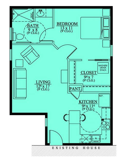floor plans with inlaw apartment house plans with in suites in