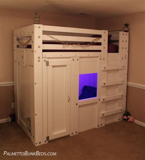 Twin Cabin Bed Plan Palmetto Bunk Beds Cabin Bunk Beds For