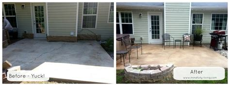 concrete backyard makeover pin by kodi cast on for the home pinterest