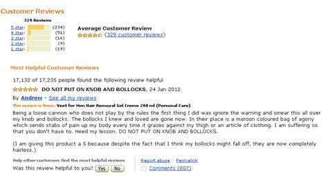amazon customer reviews veet for men hair removal photos warning read this before removing hair from your balls