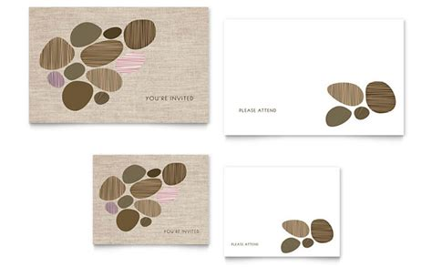 note card design template you re invited note card template design