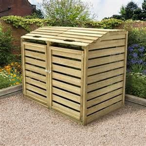 forest 5x3 bi fold bin store buy sheds direct