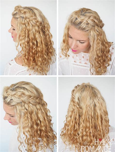 30 curly hairstyles in 30 days day 8 hair romance 30 curly hairstyles in 30 days day 2 hair romance