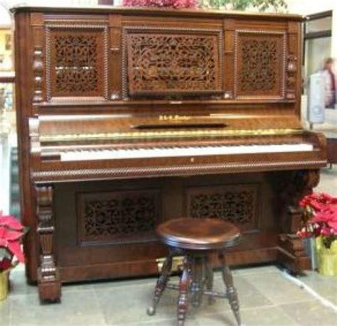 fischer rococo victorian upright piano antique piano shop