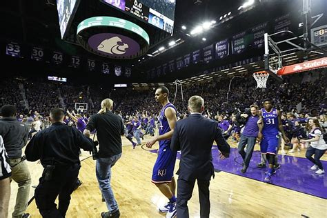 Background Check Kansas K State Court Storming Drawing Reviews From Several Organizations Kusports