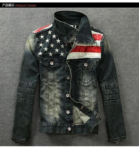 Jaket Levis By Tottal Polos new american flag jacket for fashion motorcycle