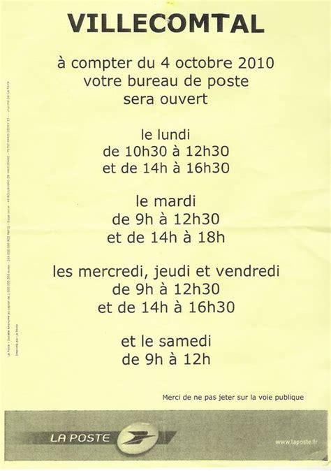horaire du bureau de poste horaires bureau de poste 28 images bureau de poste