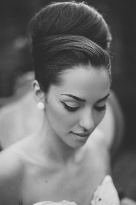 25 best ideas about sleek updo on sleek wedding updo bridal hair updo vintage and