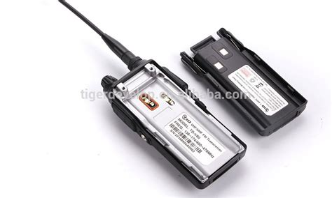 Handy Talkie Spc Uhf Fm Transceiver 1 Set Limited td v80 dual band handheld radio vhf uhf talky vhf uhf