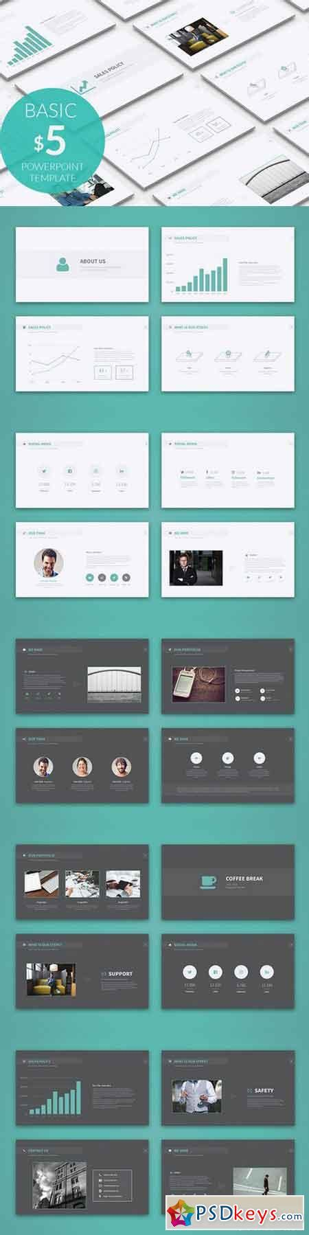 basic powerpoint template 1020552 187 free download