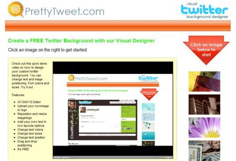 twitter layout maker twitter background maker gallery wallpaper and free download