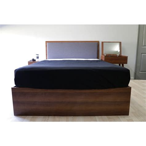 minimalist bed frame minimalist padded gas lift bed frame buy