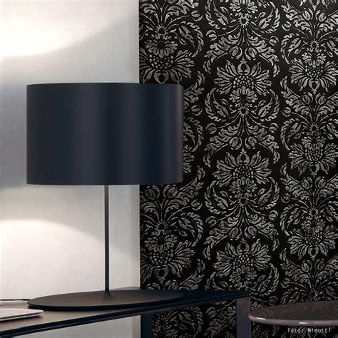 dekor tapete barock wandverkleidung wallface 14800 imperial schwarz