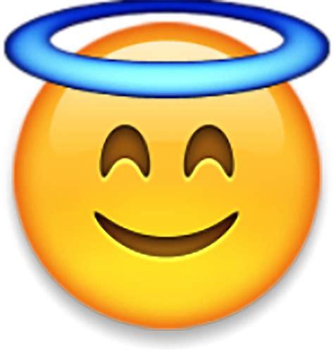 emoji sticker quot angel emoji quot stickers by idkbutpuppies redbubble