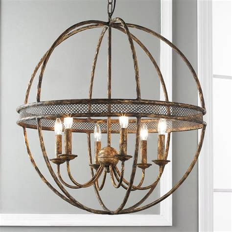 sphere chandelier lattice banded sphere chandelier gardens entry ways and
