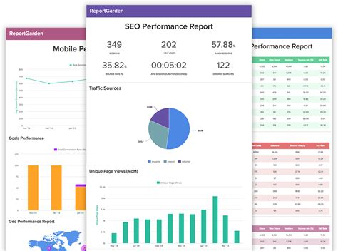 monthly seo report template seo reporting template anuvrat info