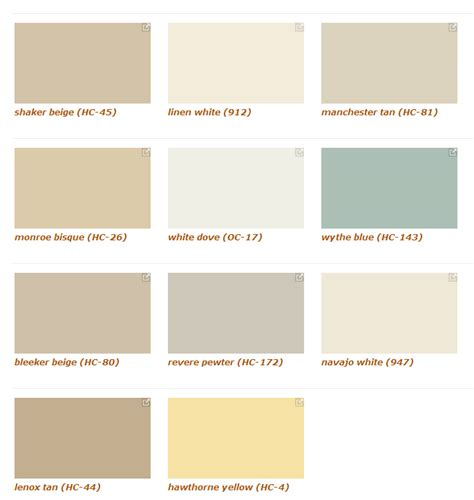 benjaminmoore colors benjamin moore color chart car interior design