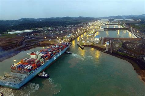 Panama Canal Records Panama Canal Breaks Records Ships Monthly