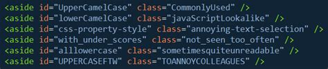 css layout naming convention javascript meta for you