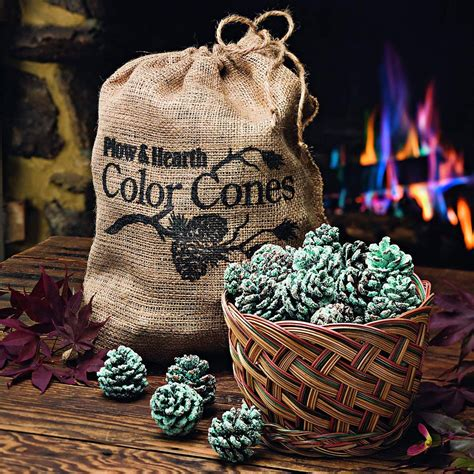 color cones color cones create blue and green flames in the