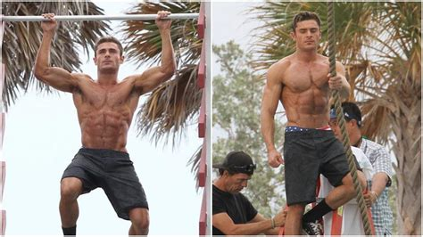 zac efron bench press zac efron workout routine for baywatch