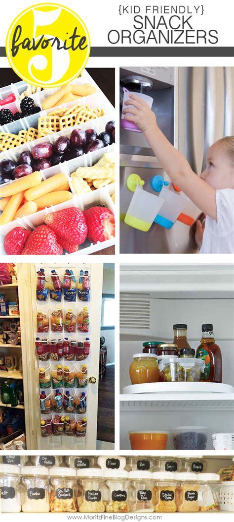 Pantry Snack Organizer by Must Kid Friendly Snack Organizers