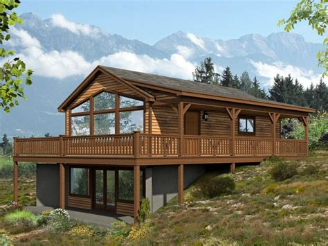 vacation cabin plans cabin house plans vacation cabin house plan with wrap around deck plan 062h 0089 at www